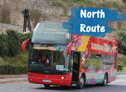 HopOn HopOff North Route