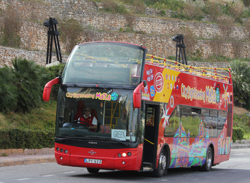 Sightseeing Bus Malta