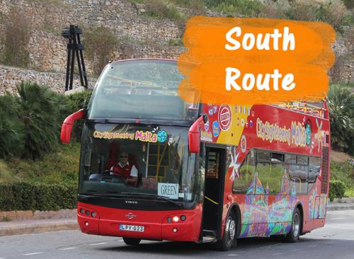 HopOn HopOff Süd-Route