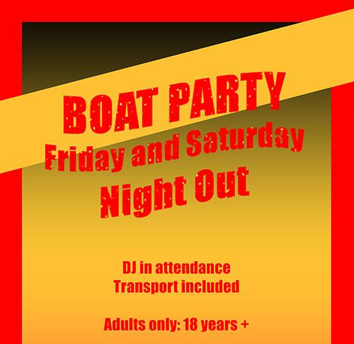 Boatparty in Malta & Gozo