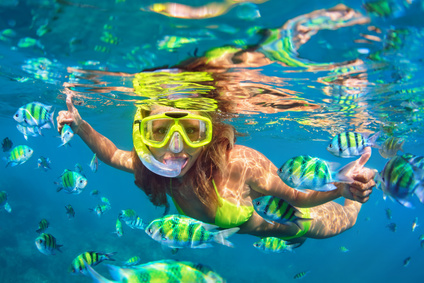 Snorkeling in Malta