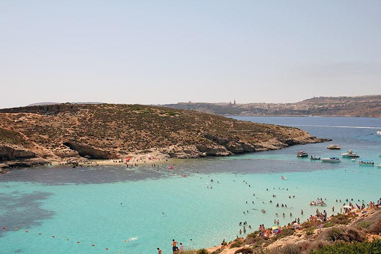 Tagesausflug ab Mellieha Bay nach Gozo und Comino