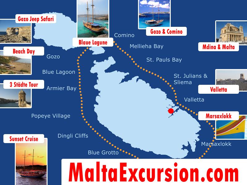 Malta Ausflüge und Touren